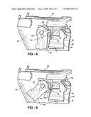 Adjustable steering column assembly having a rake and telescope locking system diagram and image
