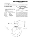 Coupling Structure for Assemblable Soccer Ball Puzzle diagram and image