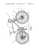 BICYCLE QUICK RELEASE ADAPTER AND BICYCLE FORK USING THE SAME diagram and image