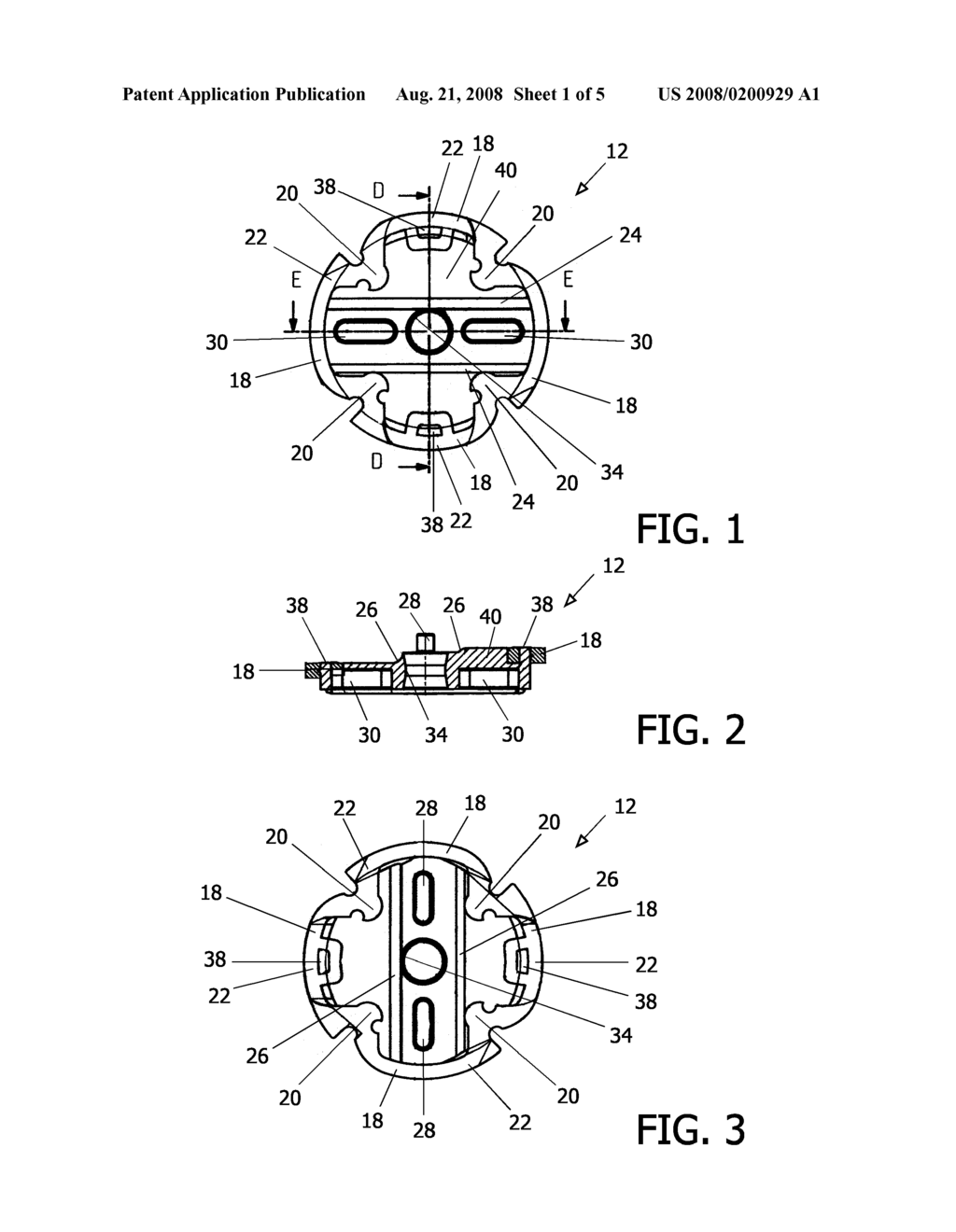 Disc for an Epilating Apparatus Disc Assembly - diagram, schematic, and image 02
