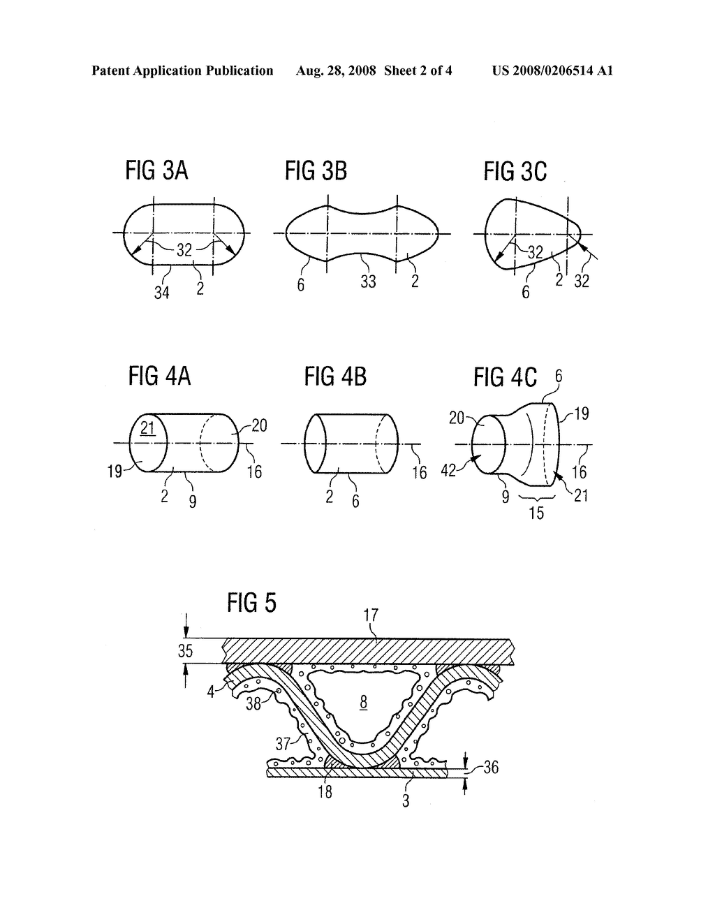 Non-Cylindrical Catalytic-Converter Carrier Element and Tool, and Method for Manufacturing it - diagram, schematic, and image 03