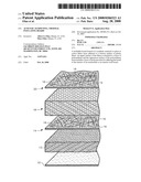 Acoustic dampening, thermal insulating board diagram and image