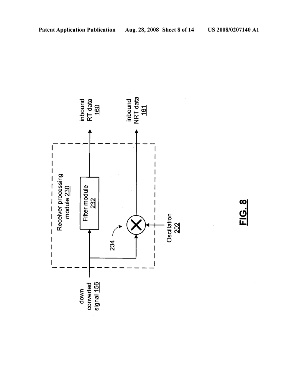 Integrated circuit with contemporaneous transmission and reception of realtime and non-realtime data and methods for use therewith - diagram, schematic, and image 09