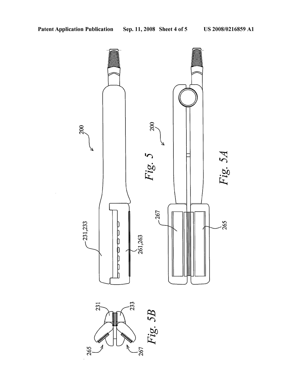 Hair Straightener with Magnetic Means - diagram, schematic, and image 05