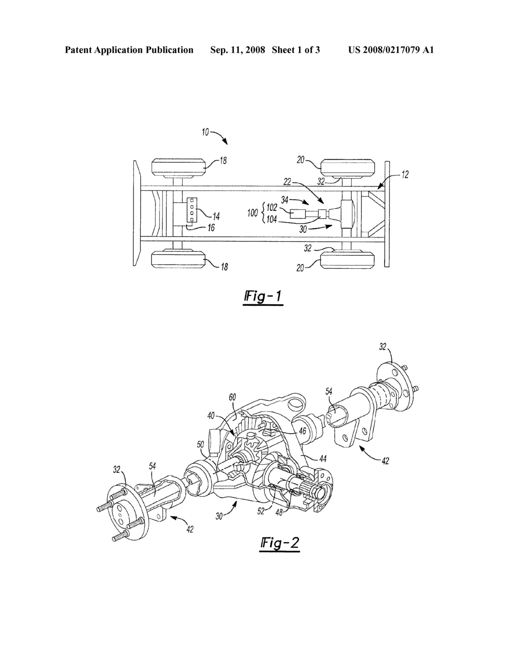 AUXILLARY DRIVE SYSTEM FOR MOTOR VEHICLES HAVING AXLE ASSEMBLY AND ELECTRIC DRIVE UNIT - diagram, schematic, and image 02
