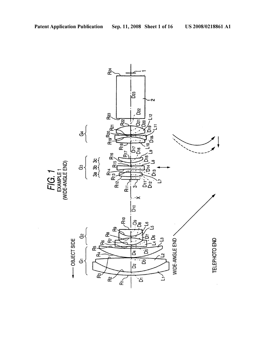 Zoom lens capable of image stabilization and imaging apparatus - diagram, schematic, and image 02