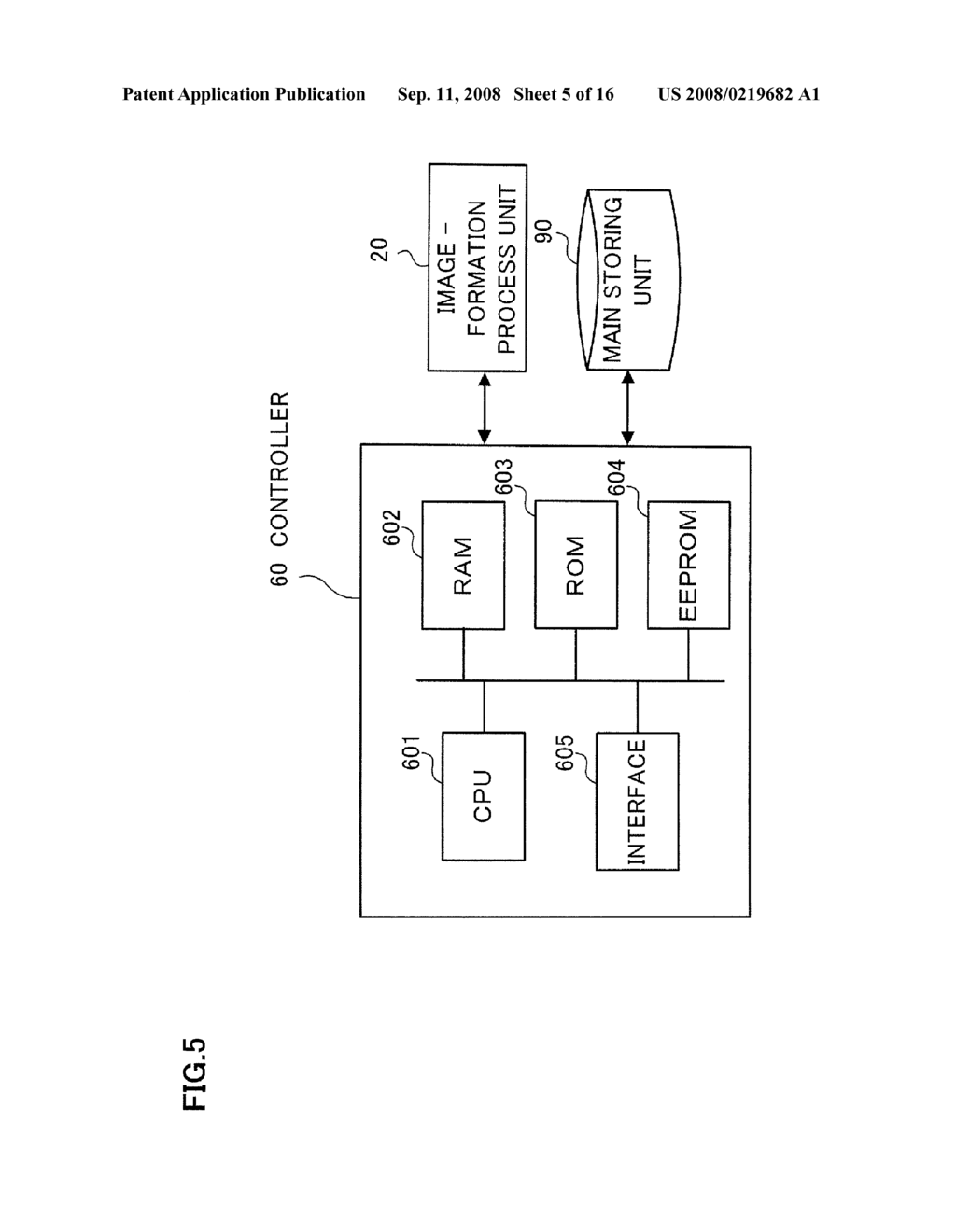 IMAGE FORMING APPARATUS, CONTROLLER, COMPUTER READABLE MEDIUM AND IMAGE FORMING CONDITION ADJUSTMENT METHOD - diagram, schematic, and image 06