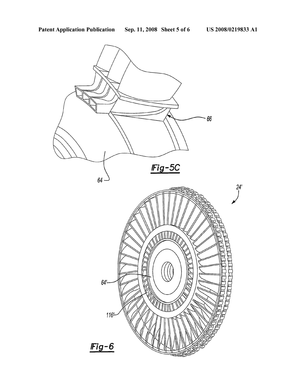 Inducer for a Fan Blade of a Tip Turbine Engine - diagram, schematic, and  image 06