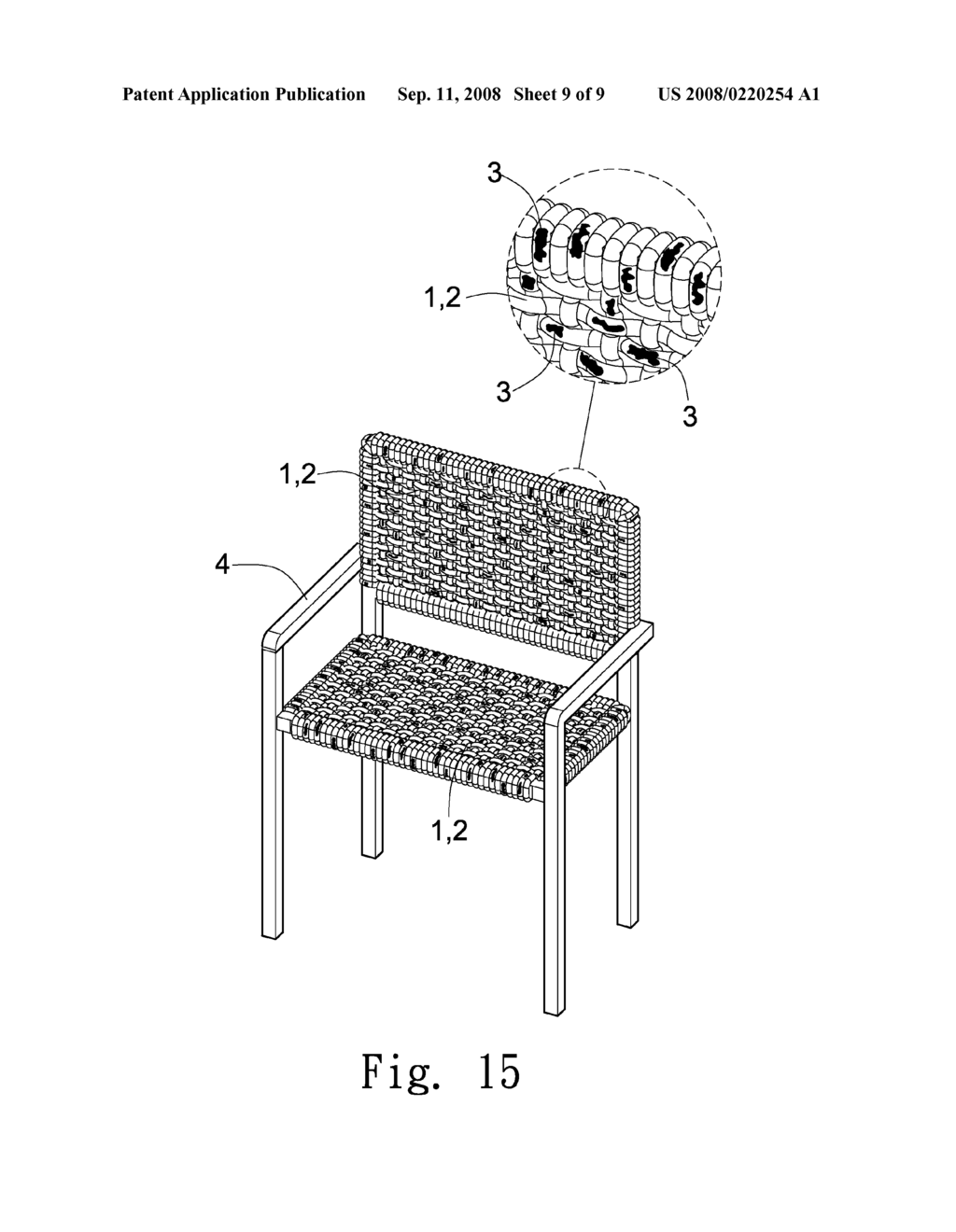 Decorative Woven Fibrous Furniture - diagram, schematic, and image 10