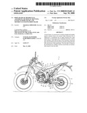 Body Frame of Motorcycle, Assembling Method of Mounting Engine on Body Frame, and Motorcycle Having Body Frame diagram and image