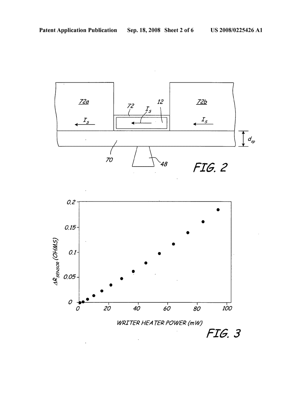 Magnetic recording device including a thermal proximity sensor - diagram, schematic, and image 03