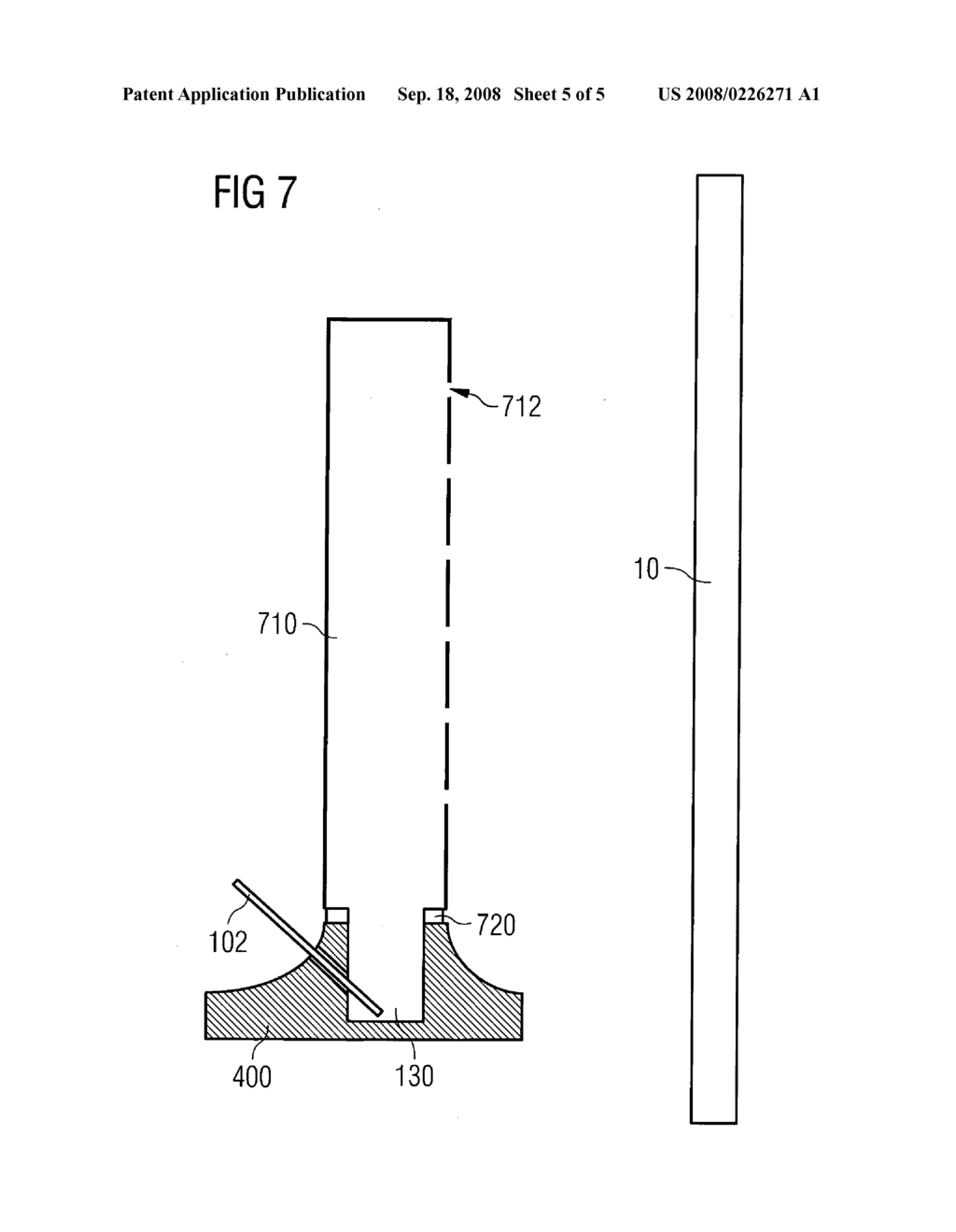 evaporation crucible and evaporation apparatus with adapted