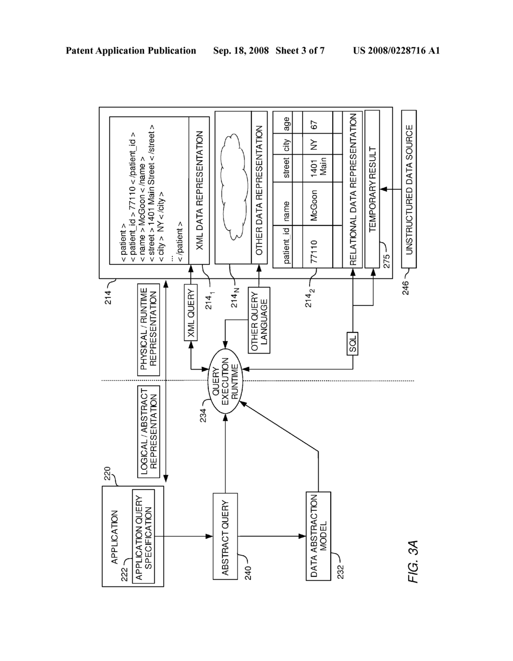 SYSTEM AND METHOD FOR ACCESSING UNSTRUCTURED DATA USING A STRUCTURED DATABASE QUERY ENVIRONMENT - diagram, schematic, and image 04