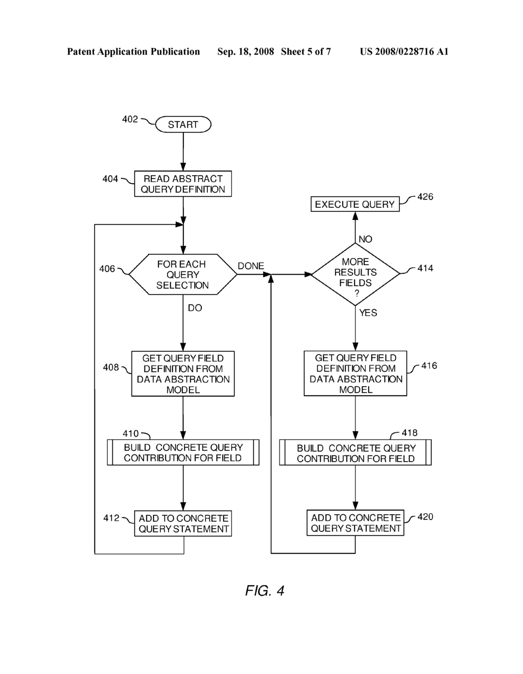 SYSTEM AND METHOD FOR ACCESSING UNSTRUCTURED DATA USING A STRUCTURED DATABASE QUERY ENVIRONMENT - diagram, schematic, and image 06