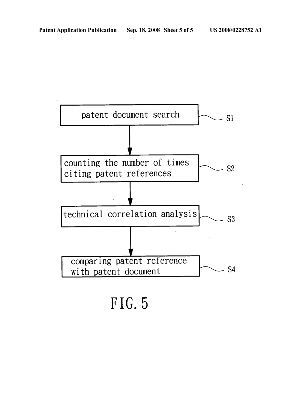 Technical correlation analysis method for evaluating patents - diagram, schematic, and image 06