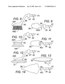 Rotatable head vibrating multifunctional device diagram and image