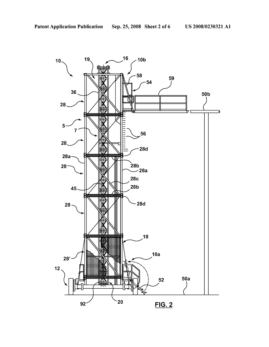 PORTABLE FREESTANDING ELEVATOR - diagram, schematic, and image 03