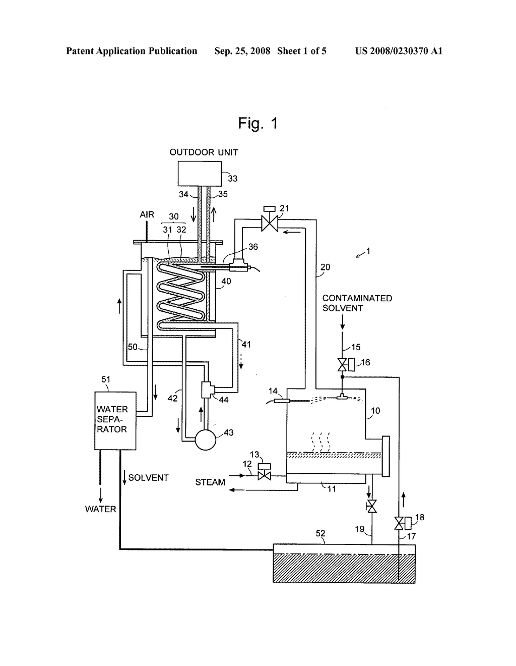 vacuum distillation method and vacuum distillation apparatus - diagram,  schematic, and image 02