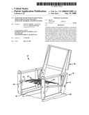 Furniture frame with interlocking joints for use with multiple furniture members and mechanisms diagram and image