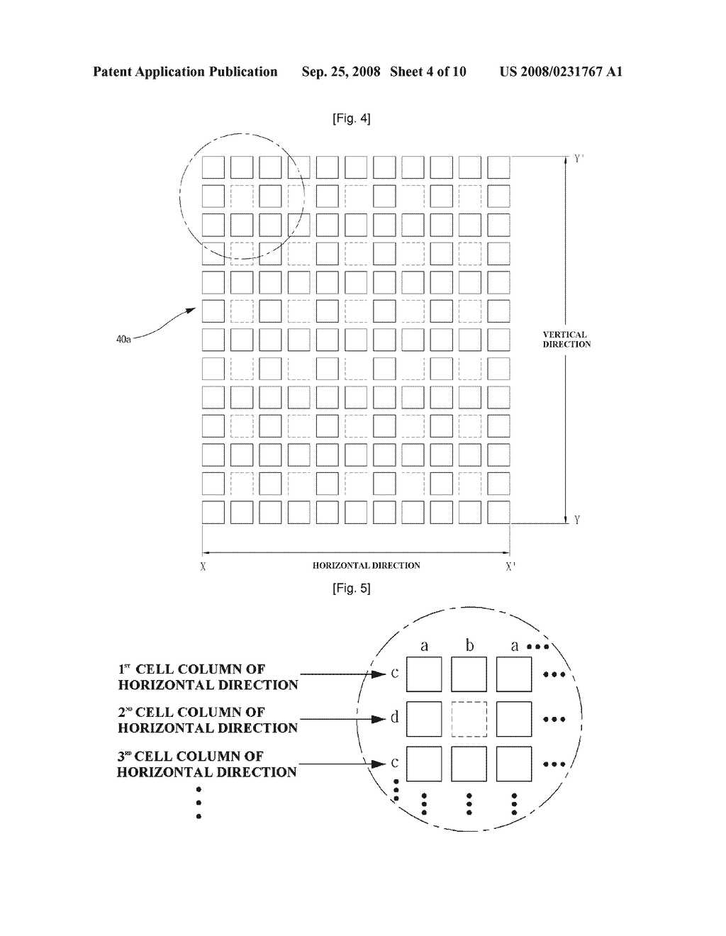 Cell Type Parallax-Barrier and Stereoscopic Image Display Apparatus Using the Same - diagram, schematic, and image 05
