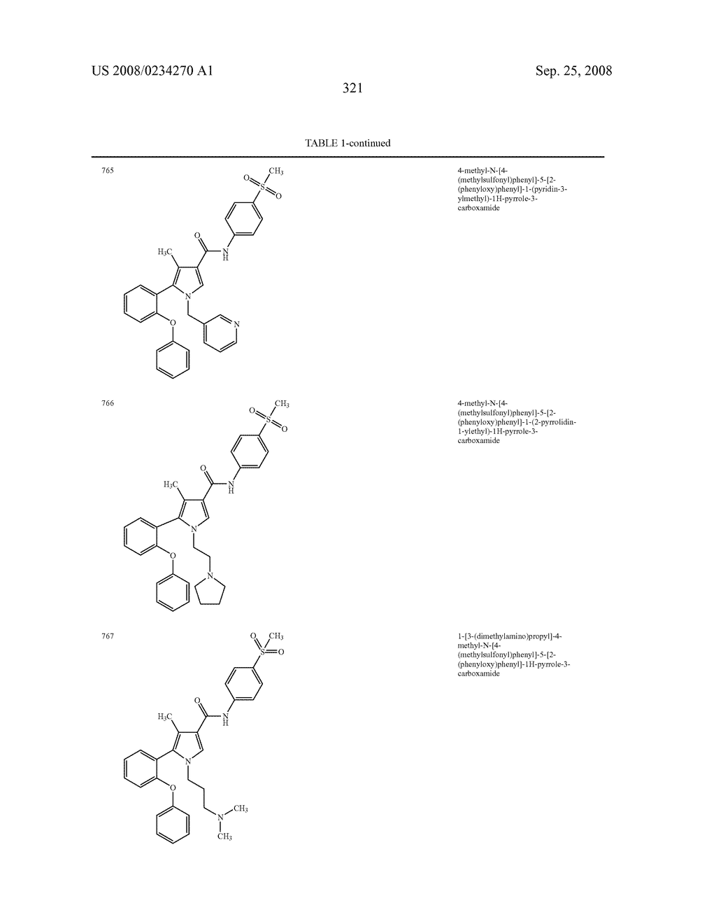 Pyrrole Derivatives As Pharmaceutical Agents - diagram, schematic, and image 322