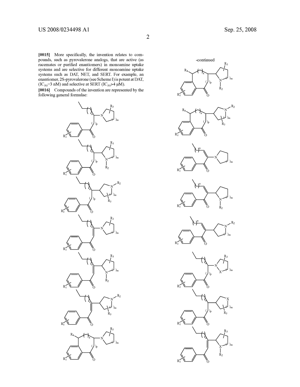 Pyrovalerone Analogues and Therapeutic Uses Thereof - diagram, schematic, and image 05