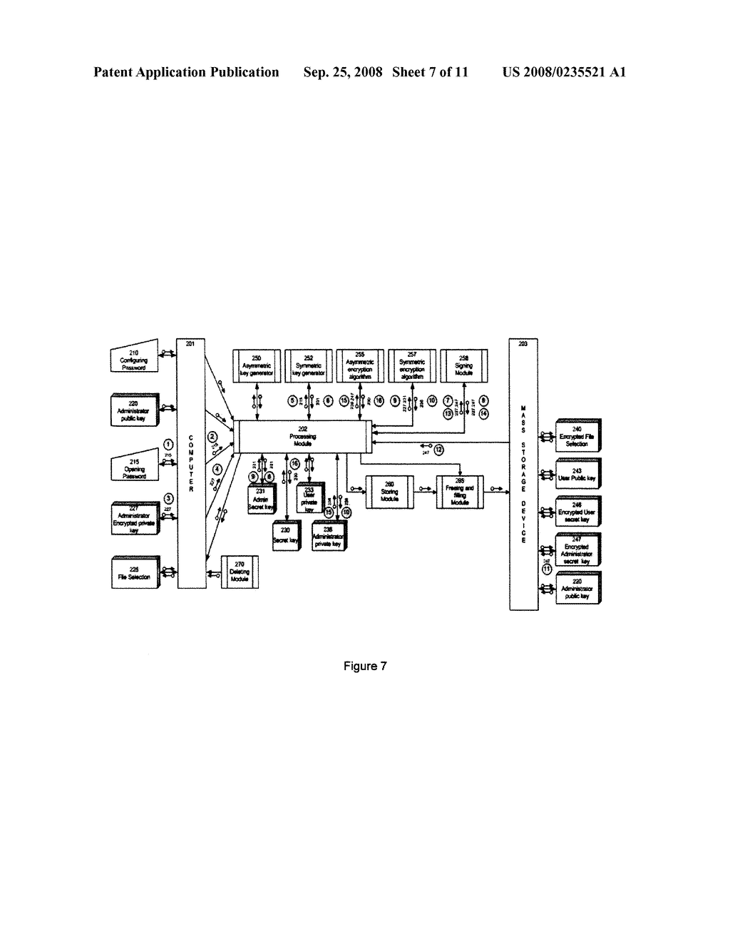 METHOD AND ENCRYPTION TOOL FOR SECURING ELECTRONIC DATA STORAGE DEVICES - diagram, schematic, and image 08