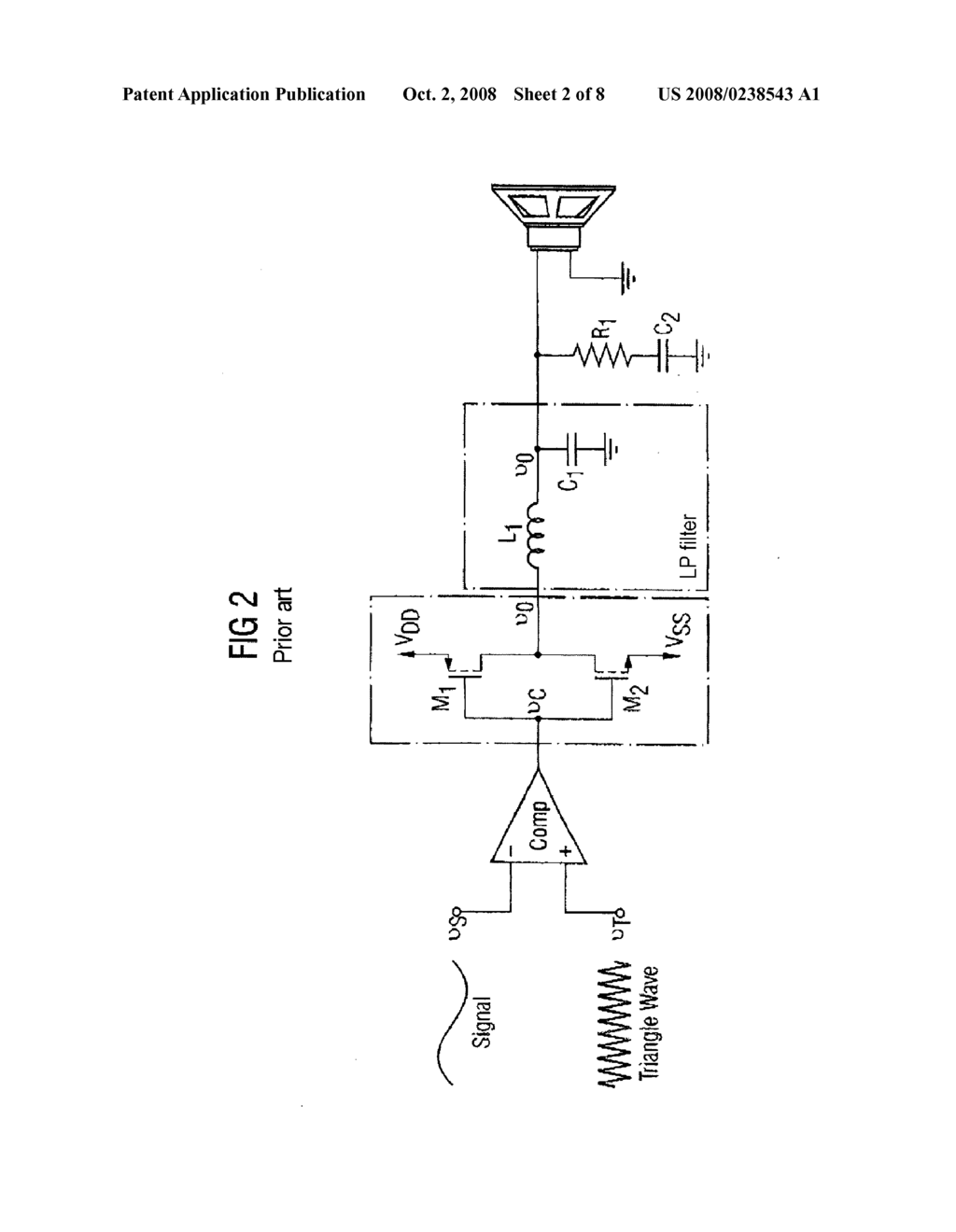 Digital Amplifier with Analogue Error Correction Circuit - diagram,  schematic, and image 03