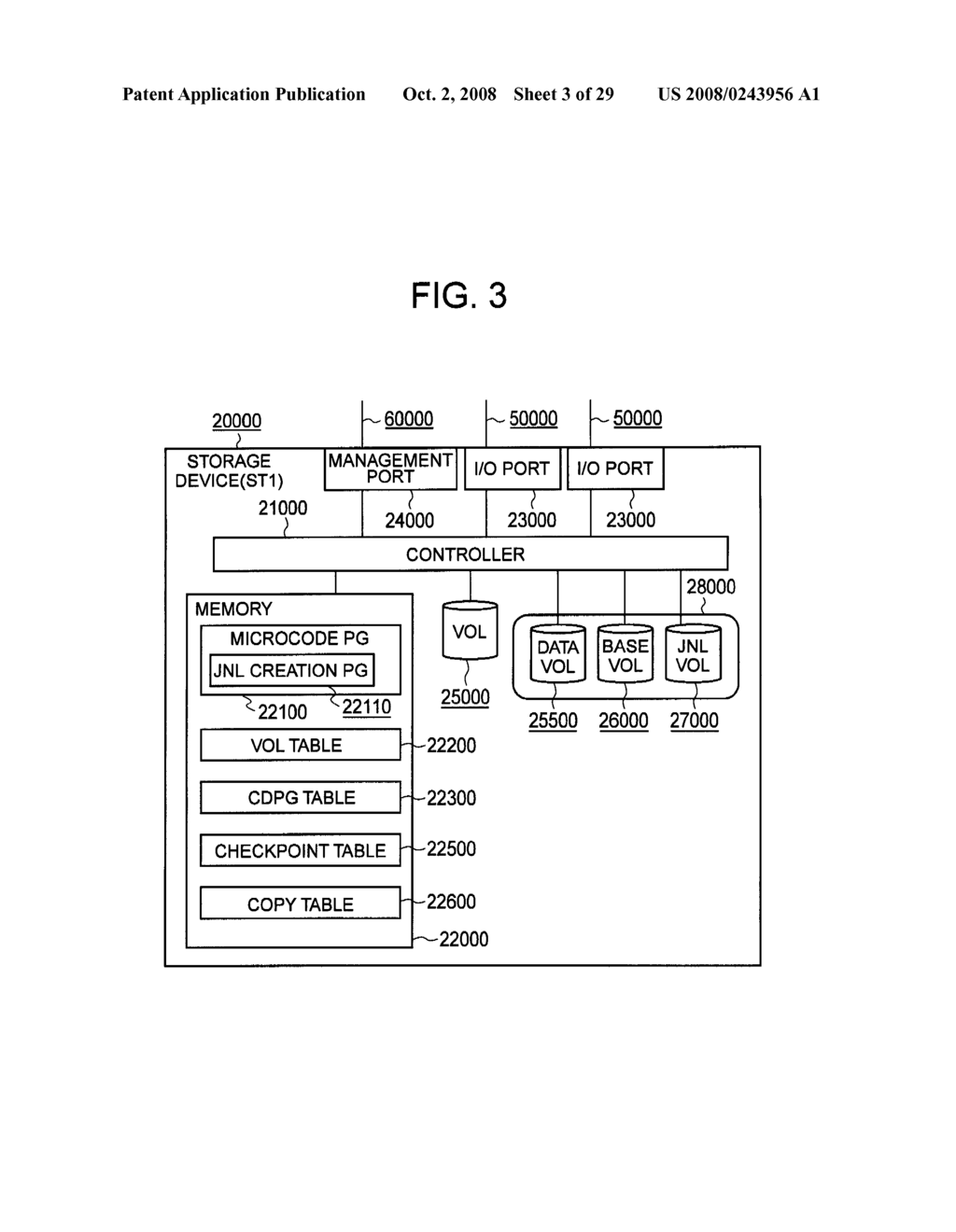 MANAGEMENT DEVICE AND METHOD FOR STORAGE DEVICE EXECUTING CDP-BASED RECOVERY - diagram, schematic, and image 04