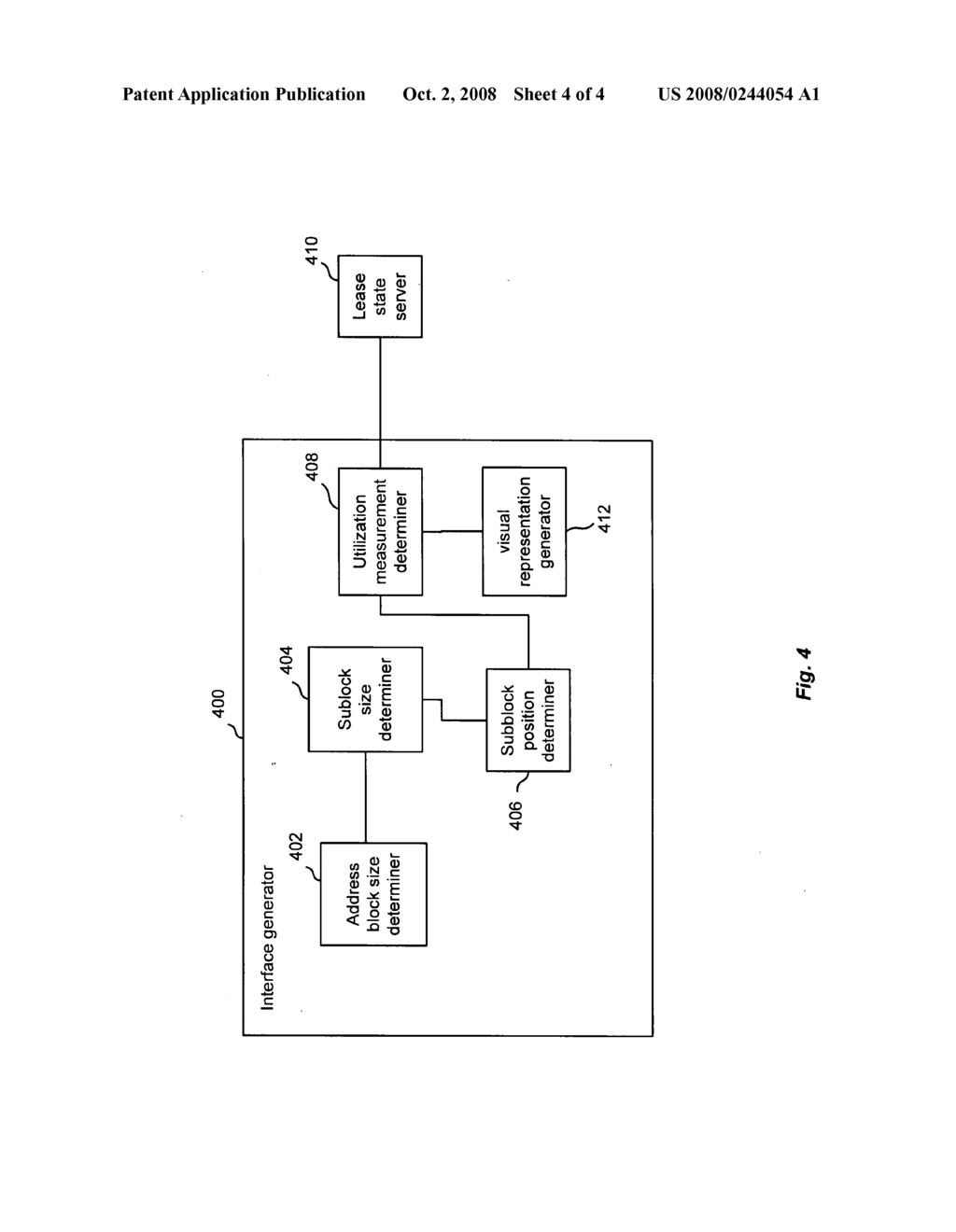 Abstract representation of subnet utilization in an address block - diagram,  schematic, and image 05