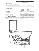 SELF-PLUNGING TOILET AND METHOD OF CLEARING A TOILET diagram and image
