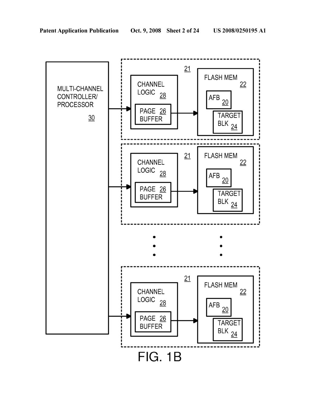 Multi-Operation Write Aggregator Using a Page Buffer and a Scratch Flash Block in Each of Multiple Channels of a Large Array of Flash Memory to Reduce Block Wear - diagram, schematic, and image 03