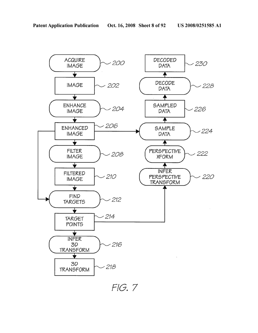 OBJECT SCANNING SYSTEM WITH A SENSING DEVICE FOR GENERATING INDICATING DATA - diagram, schematic, and image 09
