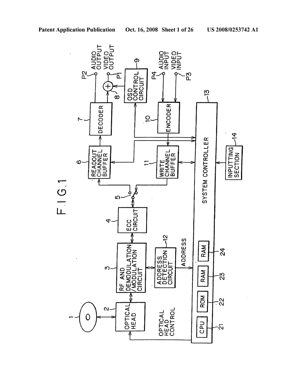 RECORDING/REPRODUCTION APPARATUS AND METHOD AS WELL AS RECORDING MEDIUM - diagram, schematic, and image 02