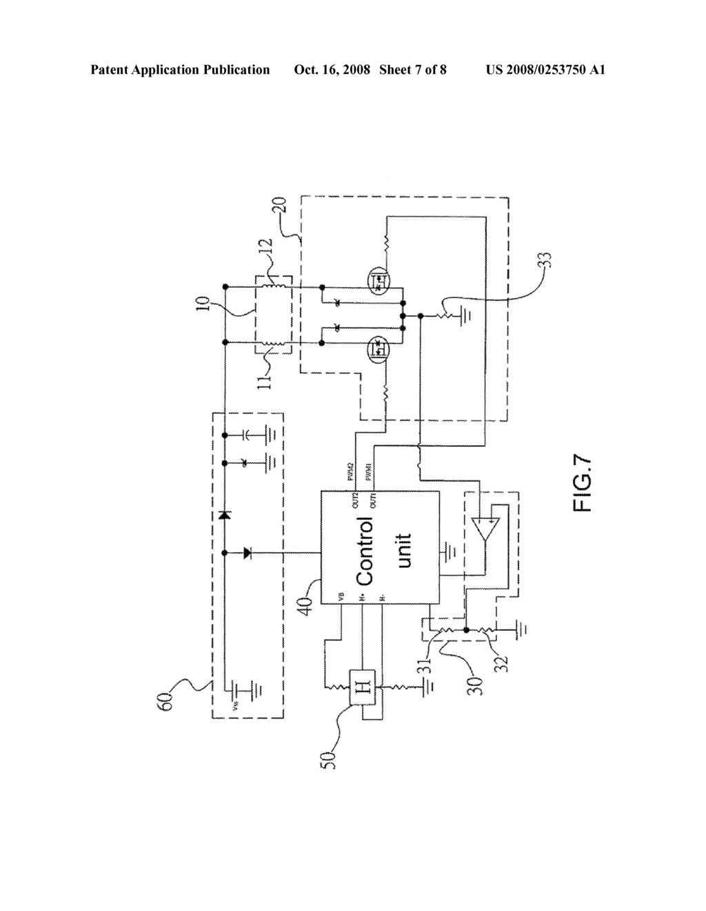 PROTECT-CONTROL DEVICE CAPABLE OF LIMITING CURRENT FOR REDUCING NOISE RESULTLING FROM SWITCHOVER OF MOTOR - diagram, schematic, and image 08