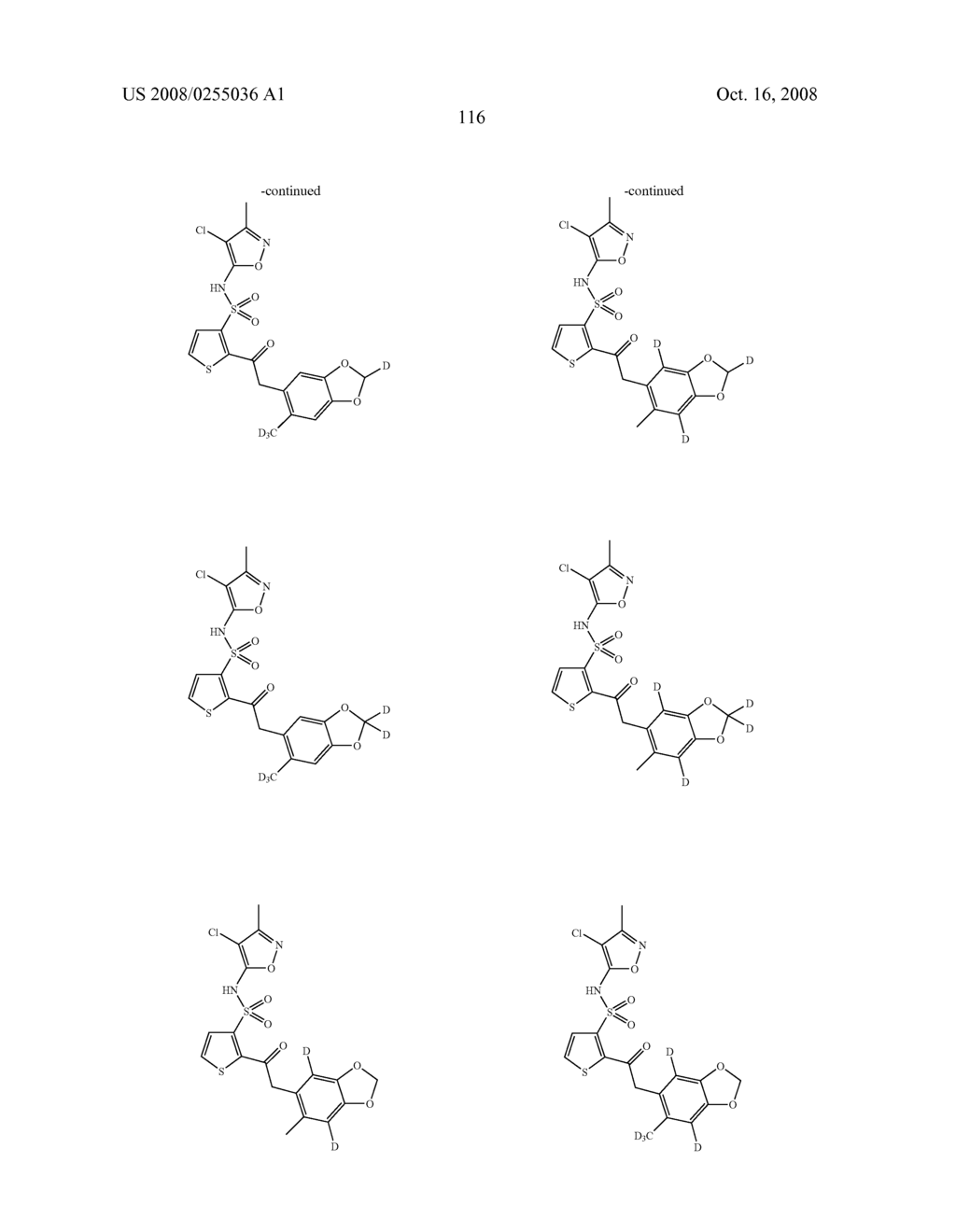 SUBSTITUTED THIOPHENES - diagram, schematic, and image 117