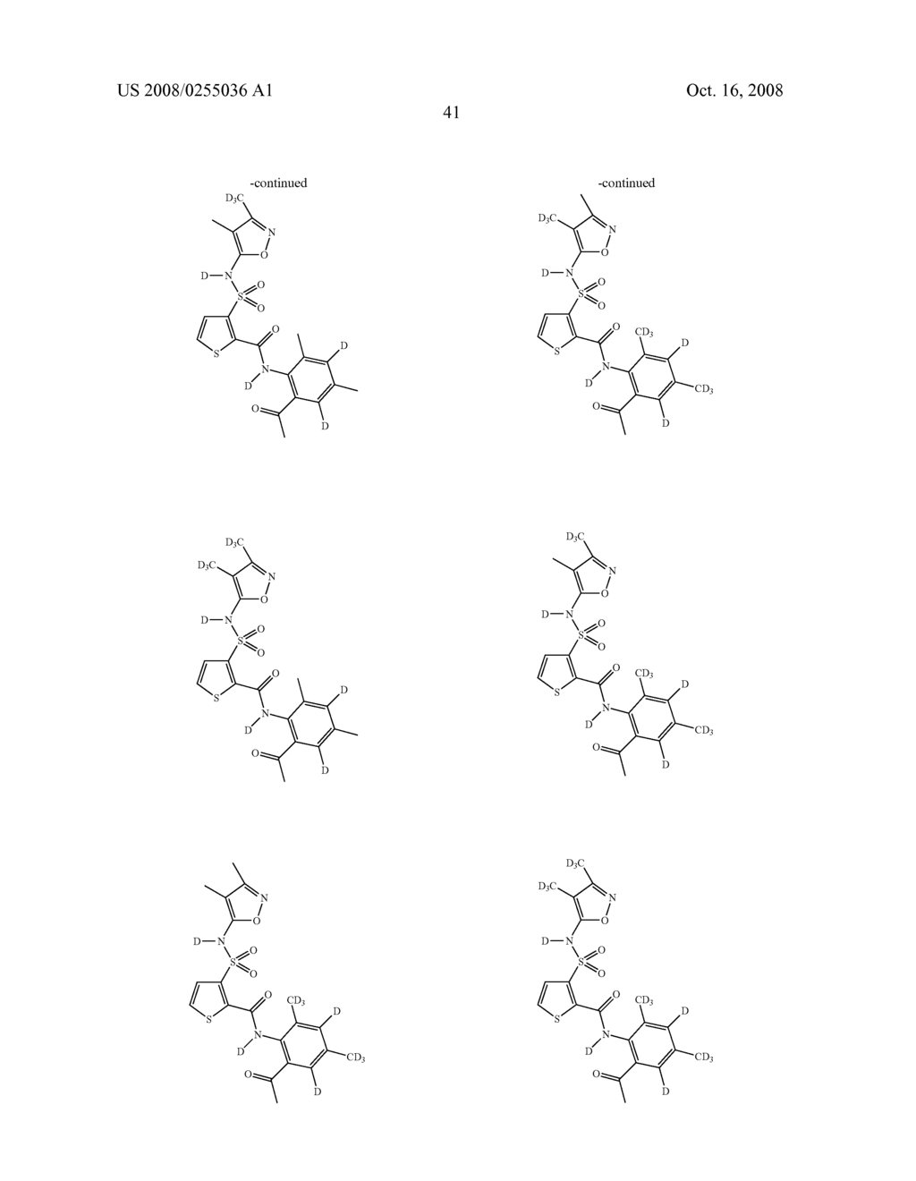 SUBSTITUTED THIOPHENES - diagram, schematic, and image 42