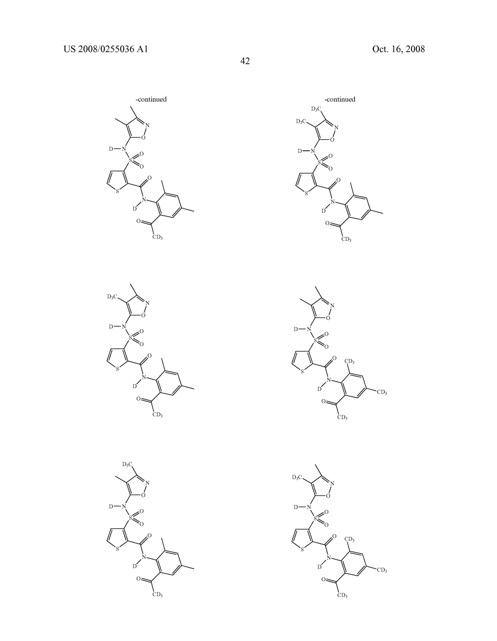 SUBSTITUTED THIOPHENES - diagram, schematic, and image 43