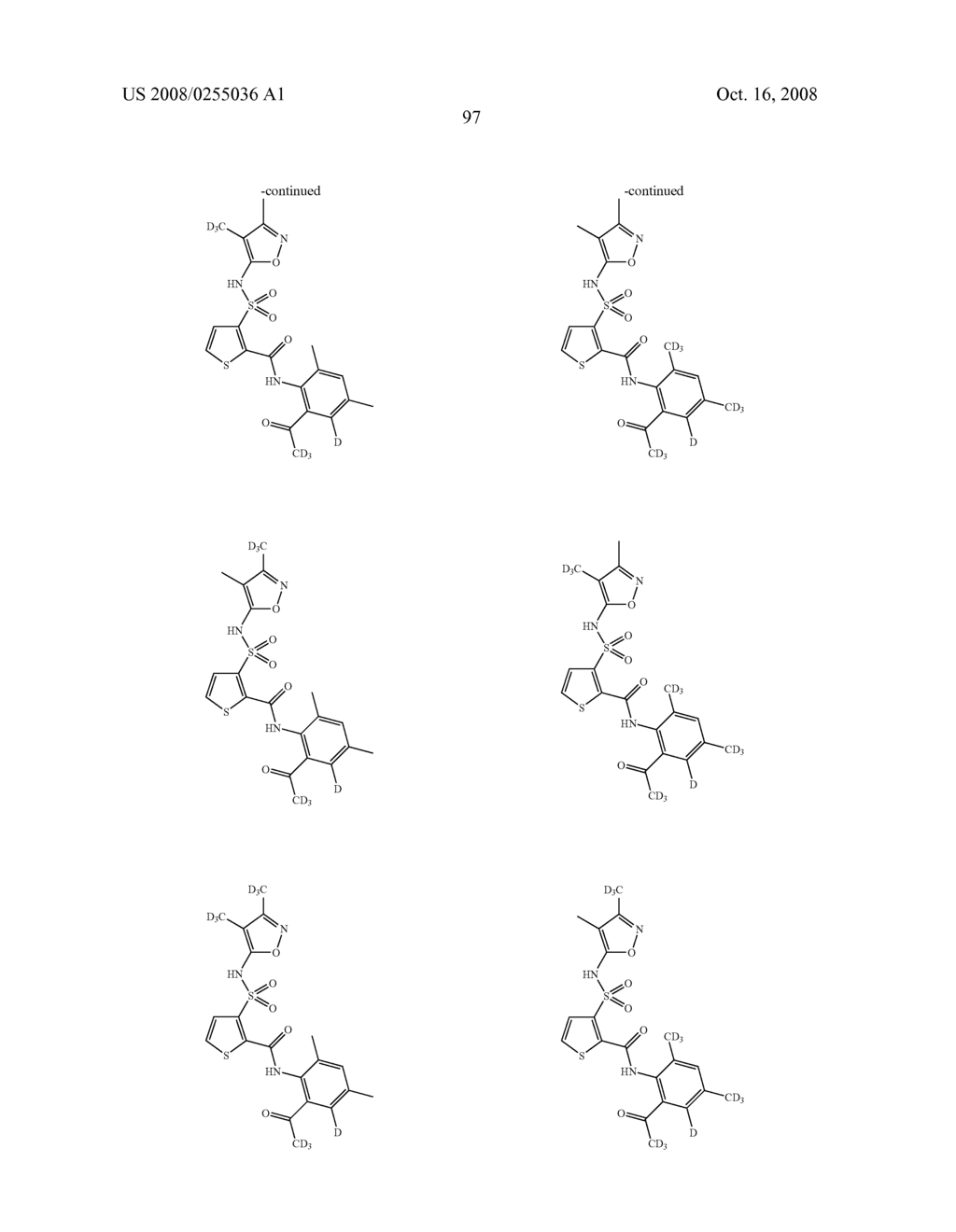SUBSTITUTED THIOPHENES - diagram, schematic, and image 98