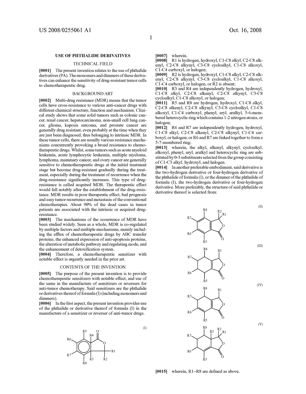 Use of Phthalide Derivatives - diagram, schematic, and image 05