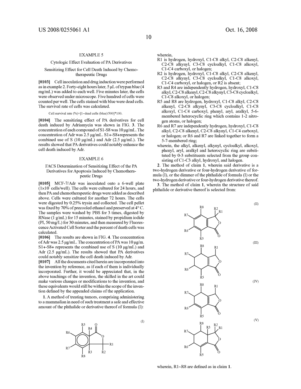 Use of Phthalide Derivatives - diagram, schematic, and image 14