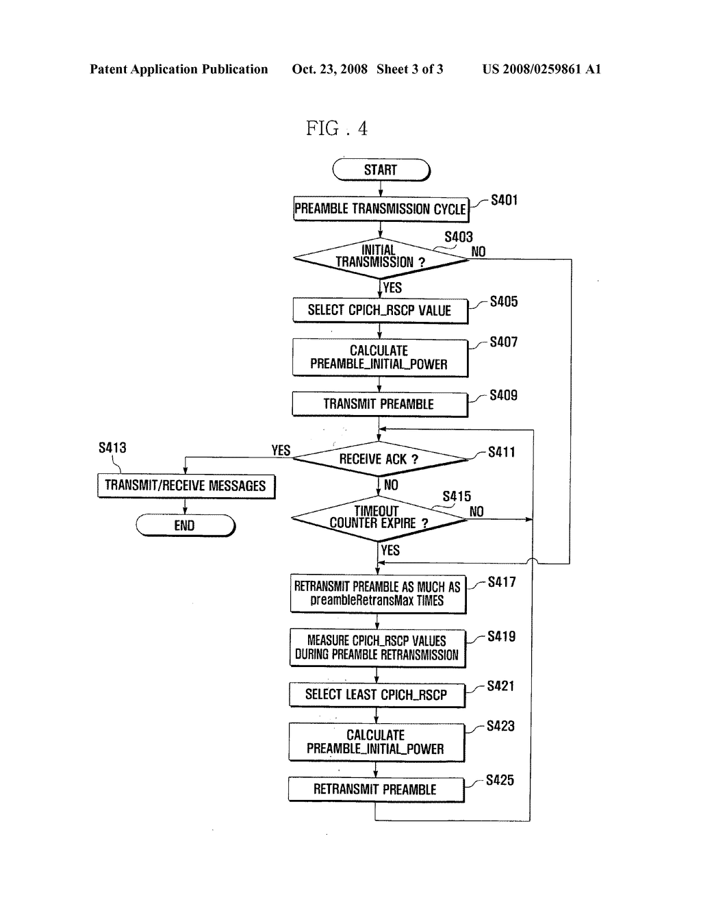 preamble transmission method for wireless communication system - diagram,  schematic, and image 04