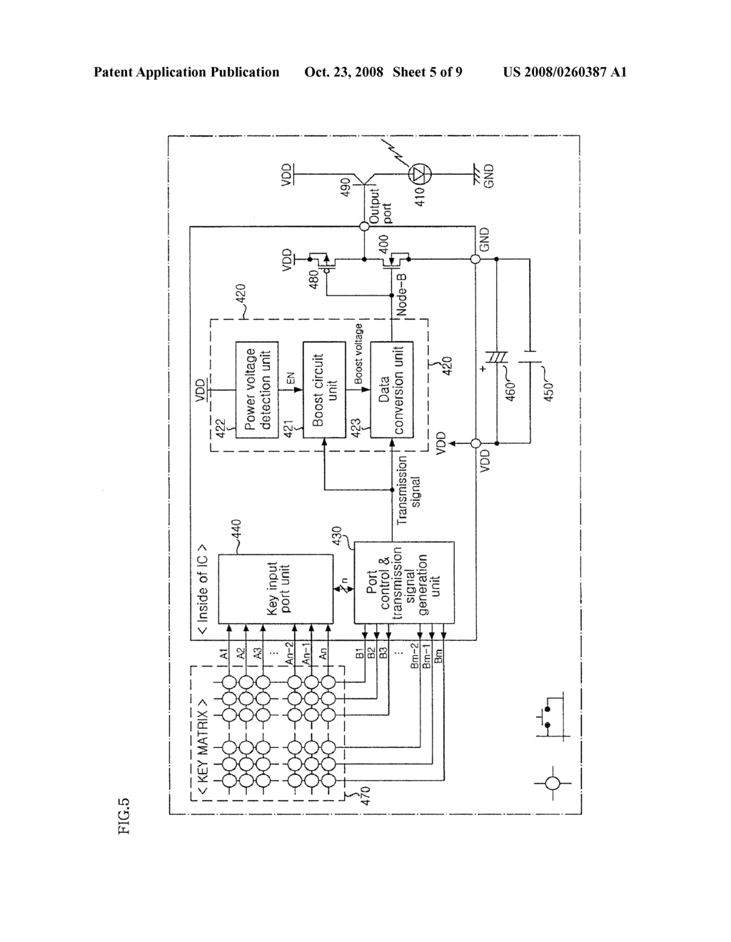 OUTPUT CURRENT PUMPING CIRCUIT AND REMOTE CONTROLLER USING THE SAME - diagram, schematic, and image 06