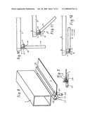 Folding Bed with Scissors-Type Lifting Arrangement diagram and image
