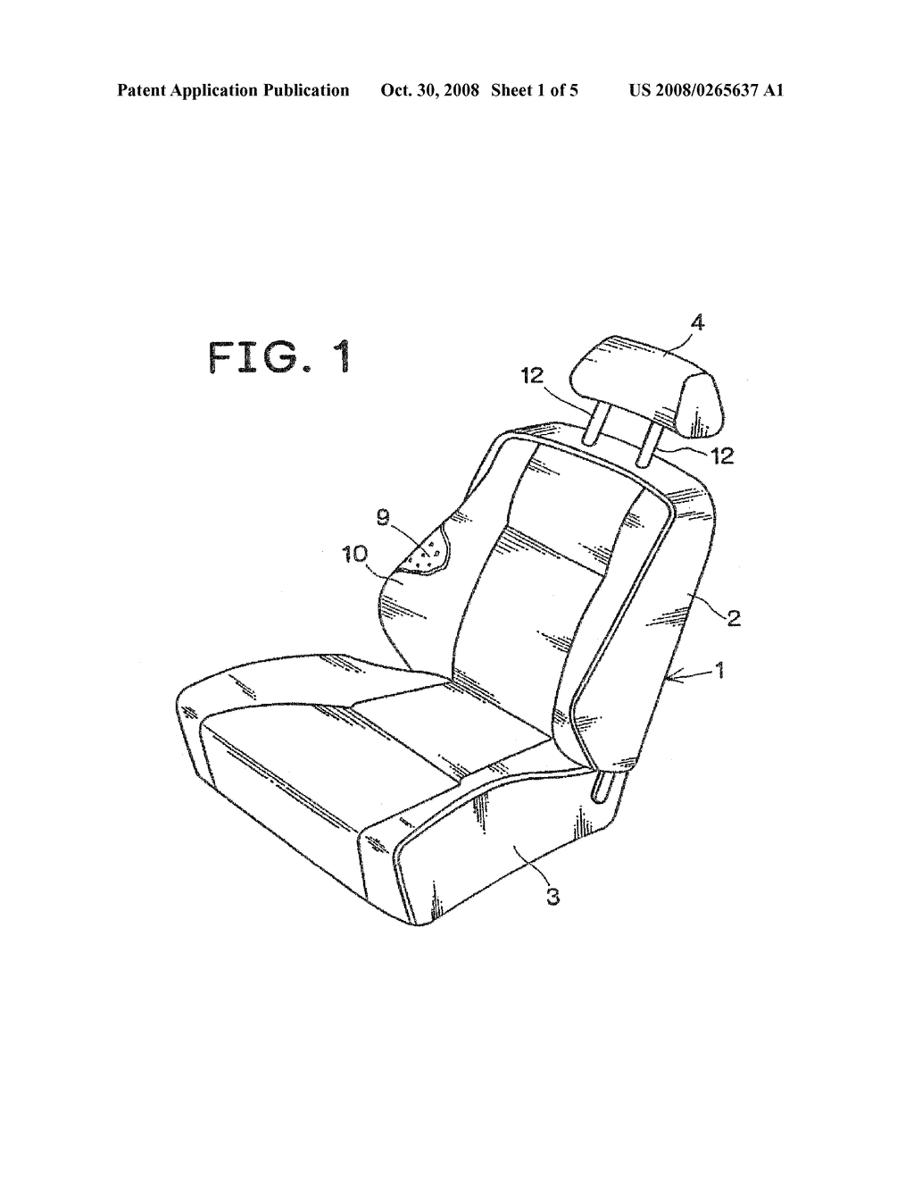 Active Headrest Mechanism for Vehicle Seat - diagram, schematic, and image 02