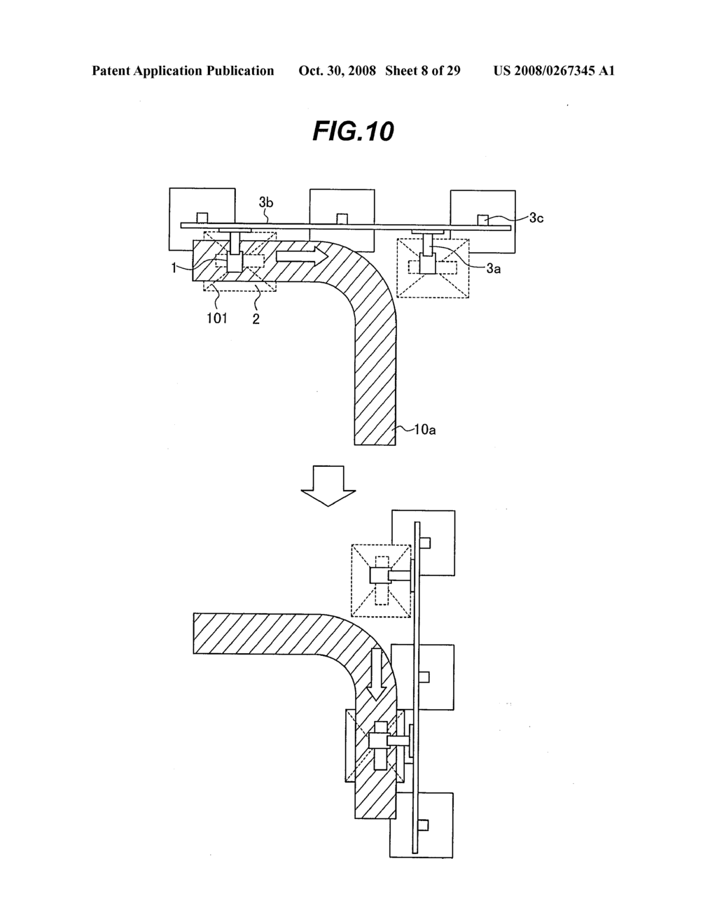 METHOD FOR INSPECTING PIPES, AND RADIOGRAPHIC NON-DESTRUCTIVE INSPECTION APPARATUS - diagram, schematic, and image 09
