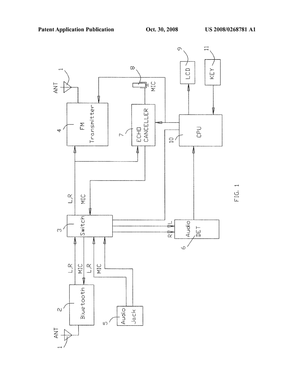 Bluetooth Fm Transmitter With Port Detect Diagram Schematic And F M Circuit Image 02