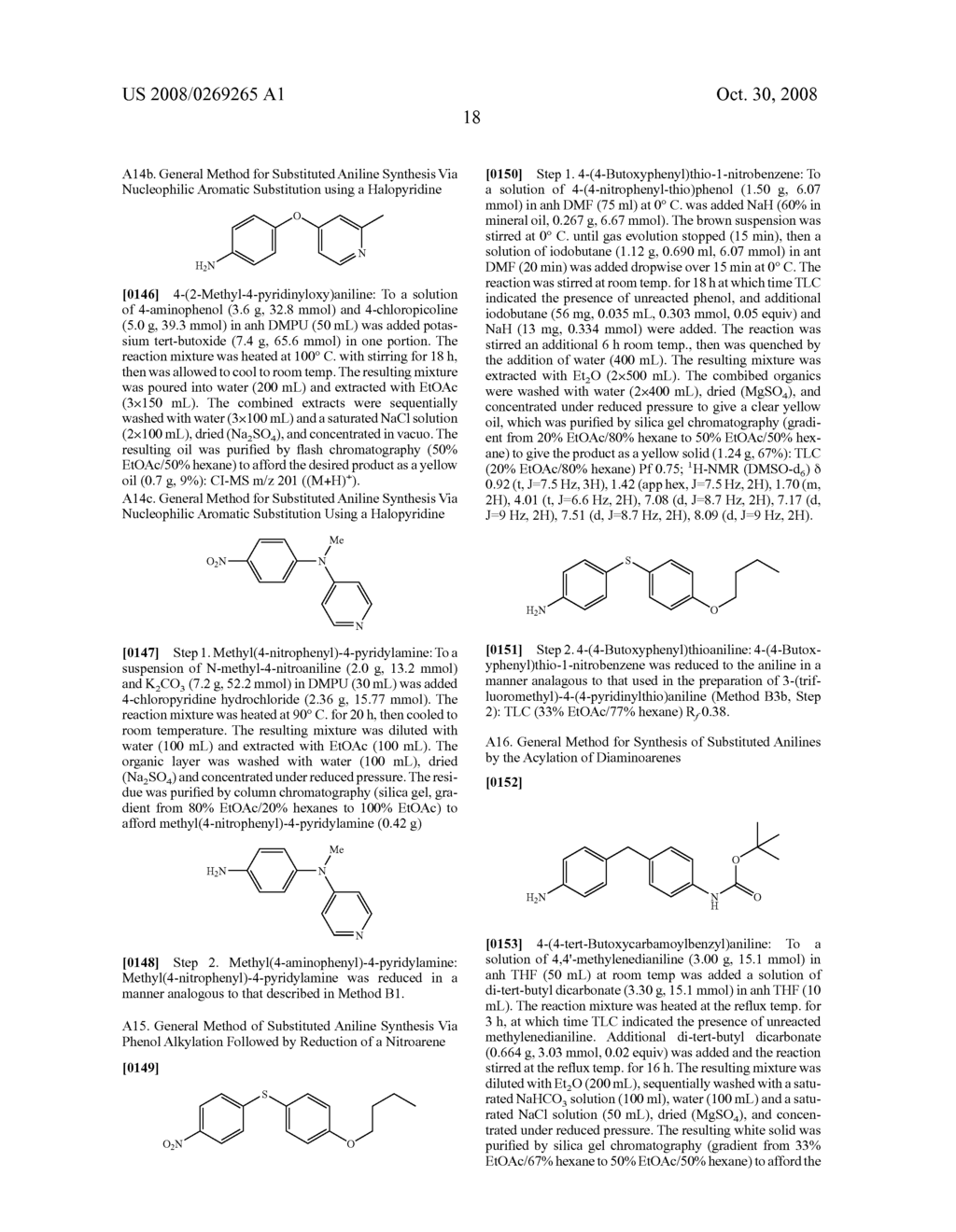 Inhibition Of Raf Kinase Using Symmetrical And Unsymmetrical Substituted Diphenyl Ureas - diagram, schematic, and image 19
