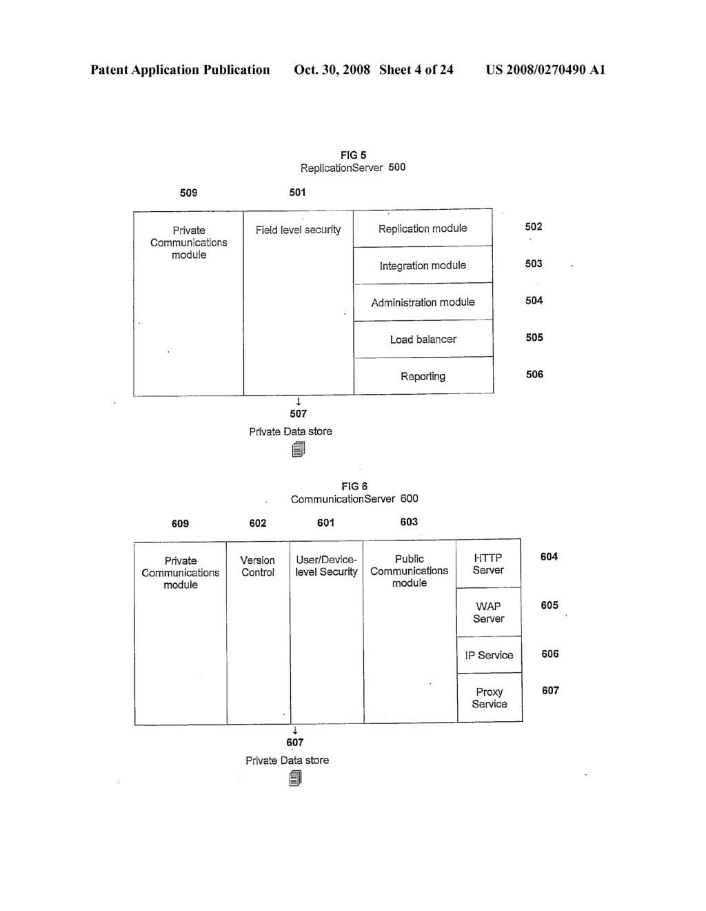 System and Method for Replication, Integration, Consolidation and Mobilisation of Data - diagram, schematic, and image 05