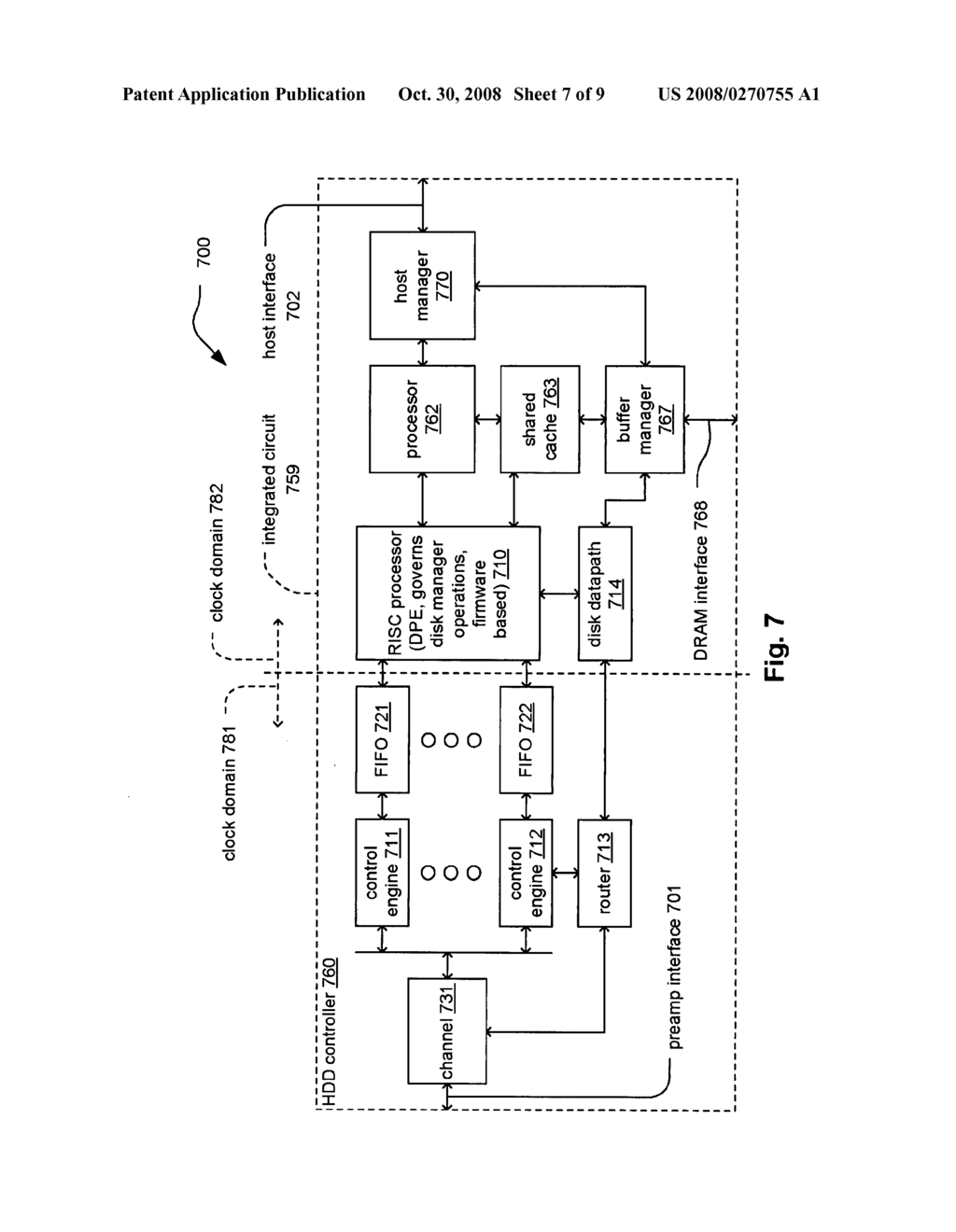 reduced instruction set computer risc processor based disk manager rh patentsencyclopedia com sata hdd schematic seagate hdd schematic
